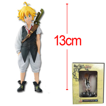 The Seven Deadly Sins Dragon's Sin of Wrath Meliodas Serpent's Sin of Envy Fox's Sin of Greed PVC Action Figure Model Brinquedos