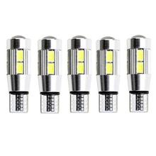 FYSZ T10 LED 5630 10-SMD W5W 194  450lm 6000k Error Free Canbus White Light Car Clearance Lamps (DC 12V / 2 PCS)