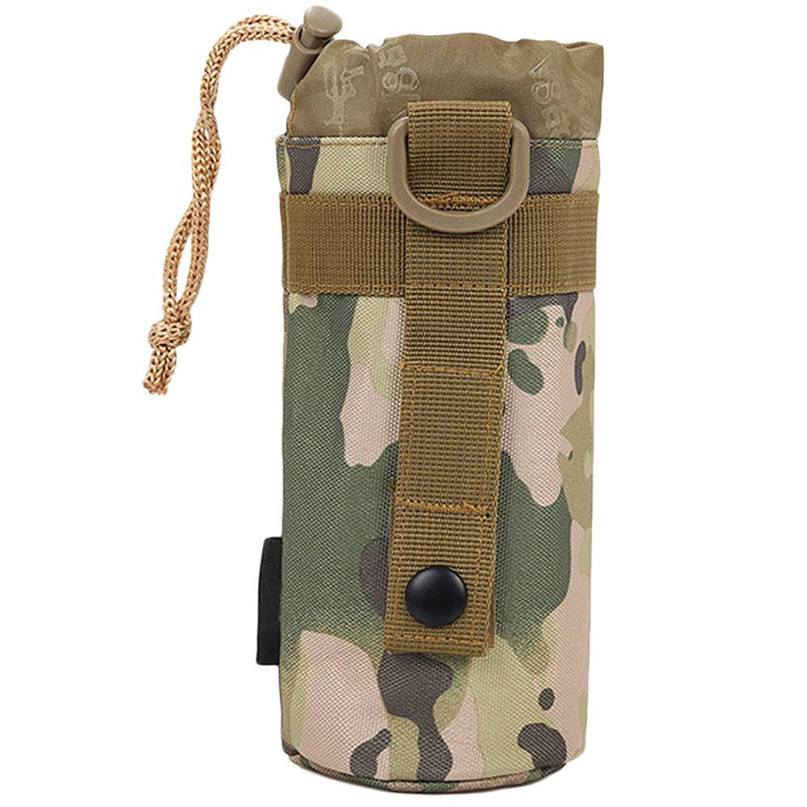 Water Bottle Pouch Utility Medic Kettle Package Hunting Outdoor Travel Bag 3 Styles Outdoor Sports Bags Camouflage package #2A23