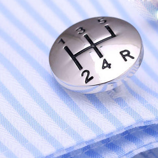 Luxury Shirt Car Wheel Cufflink Cuff Buttons Links High Abotoaduras Gemelos Para Camisas 283