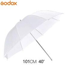 Godox 40inch/101cm Portable White Flash Diffuser Soft Reflector Photo Umbrella Light Photo Umbrella For Photo Studio Accessories