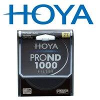 Фильтр HOYA ND 1000 10-Stops светильник фильтр объектива 62 мм 67 мм 72 мм 77 мм 82 мм фильтр нейтральной плотности 1000