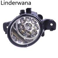For NISSAN TEANA 2004 2014 Car Styling High Brightness LED Fog Lights DRL Lights 1SET