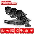 La vigilancia por vídeo HD h.264 8ch hdmi 1080P 1080N grabadora de video DVR seguridad sony 1200TVL al aire libre sistema de cámara dvr kit 1TB HDD