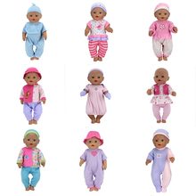 Fashional New Suit Wear for 17 inch 43cm baby doll, Children best Birthday Gift