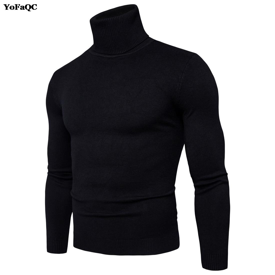 Turtleneck Sweater Mens Clothing