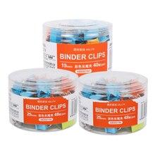 Metal Binder Clips 19mm Notes Letter Paper Clip Office Suppl