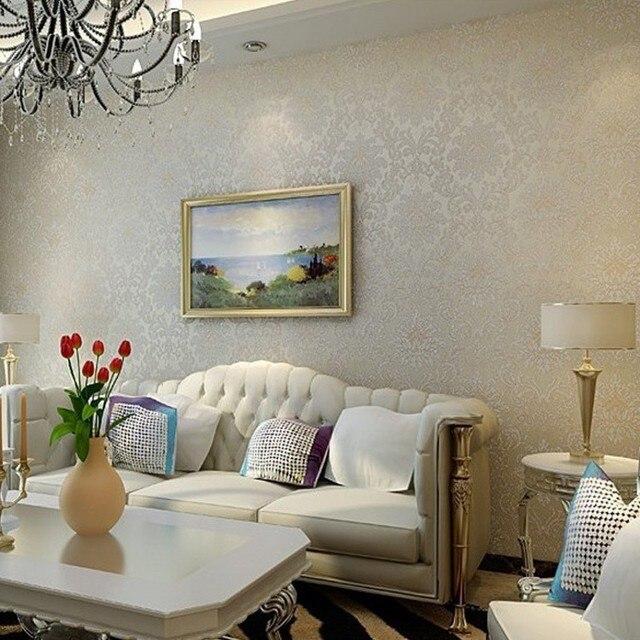 Spedizione gratuita stile europeo classico fiore carta da for Carta da parati per soggiorno classico