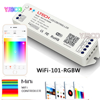 ltech WiFi-101-RGBW DC12-24V 2.4G iOS Android APP WiFi RGBW Mini Wireless led controller For rgbw led strip light