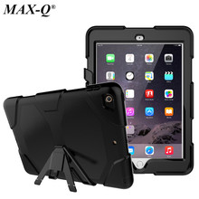 Armor Kickstand Case Funda For Apple New iPad 9.7 2017 Case Cover Tablet Safe Shockproof Heavy Duty Stand Hang Shell Model A1822
