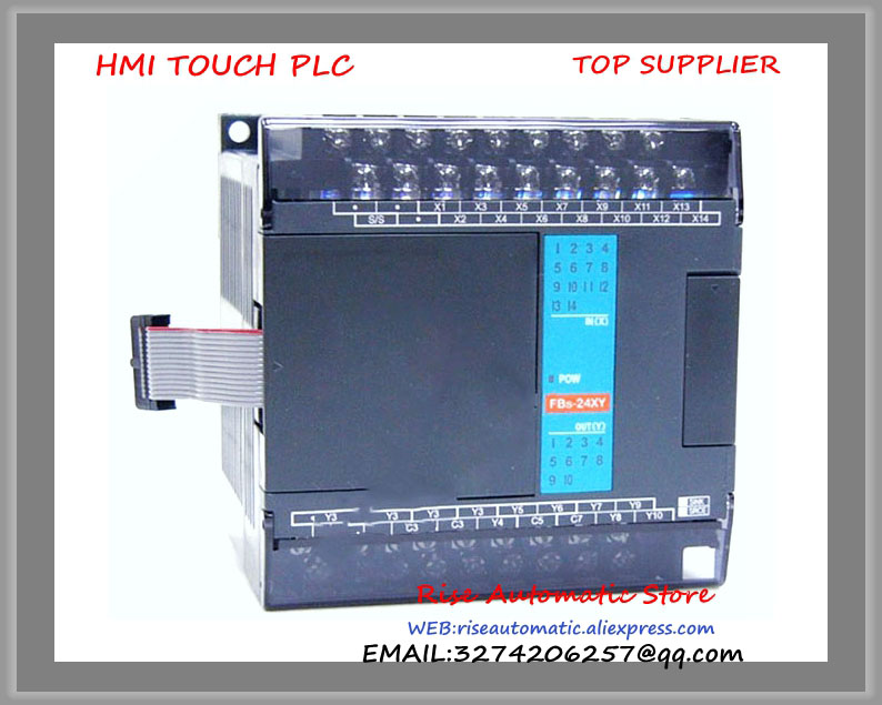 FBs-24XYR-AC Fatek PLC AC220V 14 DI 10 DO relay Module New Original fbs 16xyr fatek plc 24vdc 8 di 8 do relay module new in box