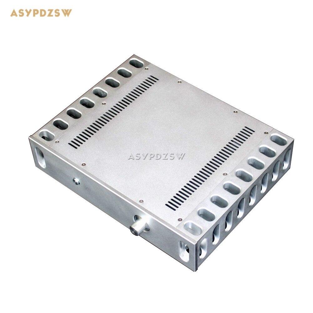 Wa45 Полный алюминиевый корпус предварительного усилителя шасси ламповый усилитель шасси Мощность усилитель случае 325*430*92 мм