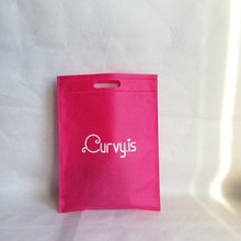 9a4900370 Venta al por mayor 500 unids/lote bolsa de mano personalizada Logo bolsas  no tejidas