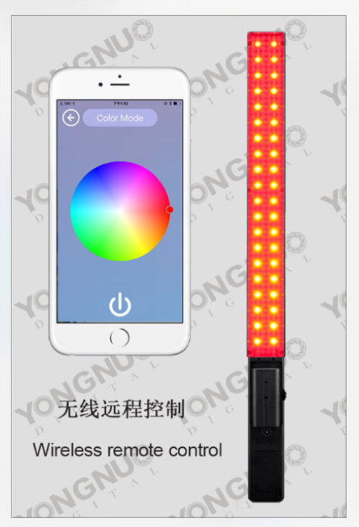 YONGNUO YN360 LED Video Light with Adjustable Color Temperature 3200K-5500K