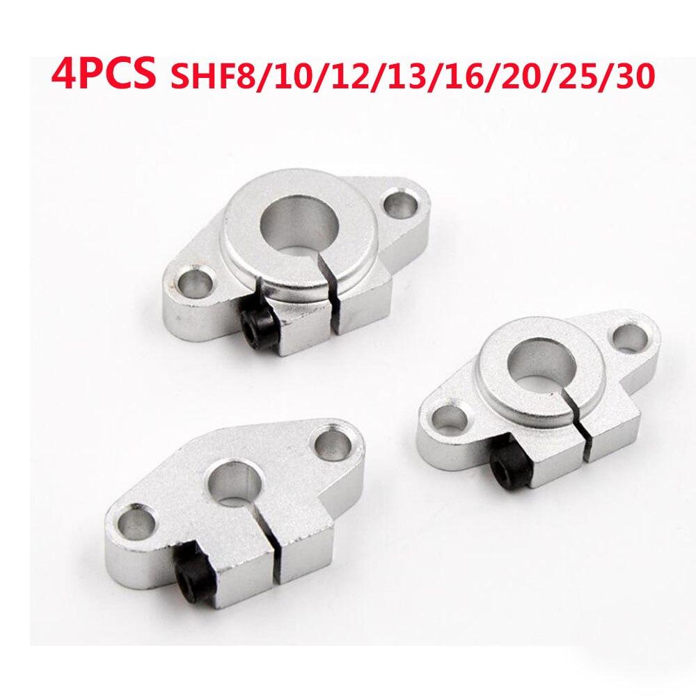 Arbre de roulement linéaire | Roulement linéaire, Support, routeur, pour imprimante 3D SHF8 SHF10 SHF12 SHF13 SHF16 SHF20 SHF25 SHF30 4 pièces/lot