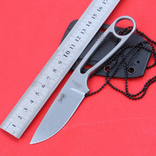 Ant  IZULA fixed blade knife tactical hunting knife with Rowen D2 blade camping straight ESEE knife outdoor survival tool 90g