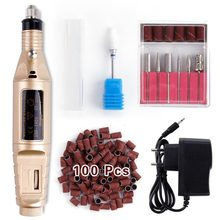 Electric Manicure Set Nail Drill Bits Milling Machine Ceramic Cutter Pedicure Cutters Gel Polish Remover Nail Art Files Tools