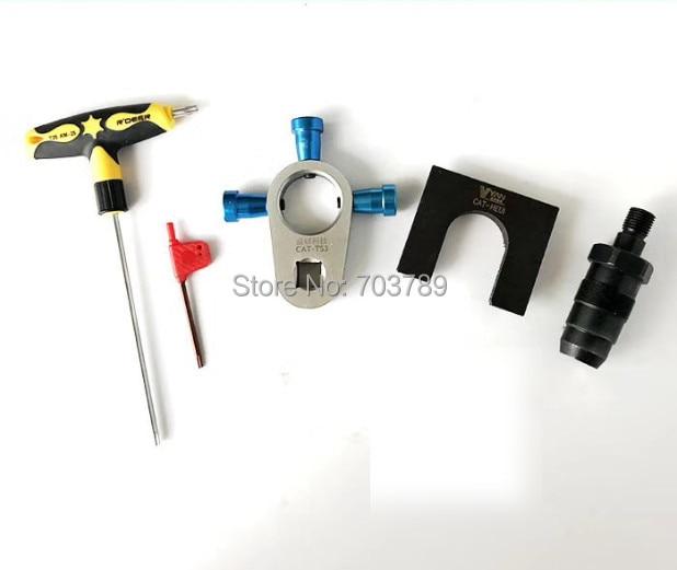 CAT C7/C9 common rail injector medium pressure repair tool, CAT common rail injector disassemble tool, CAT C7 C9 adapter tool 7 42 17s2203070 n28125 used disassemble