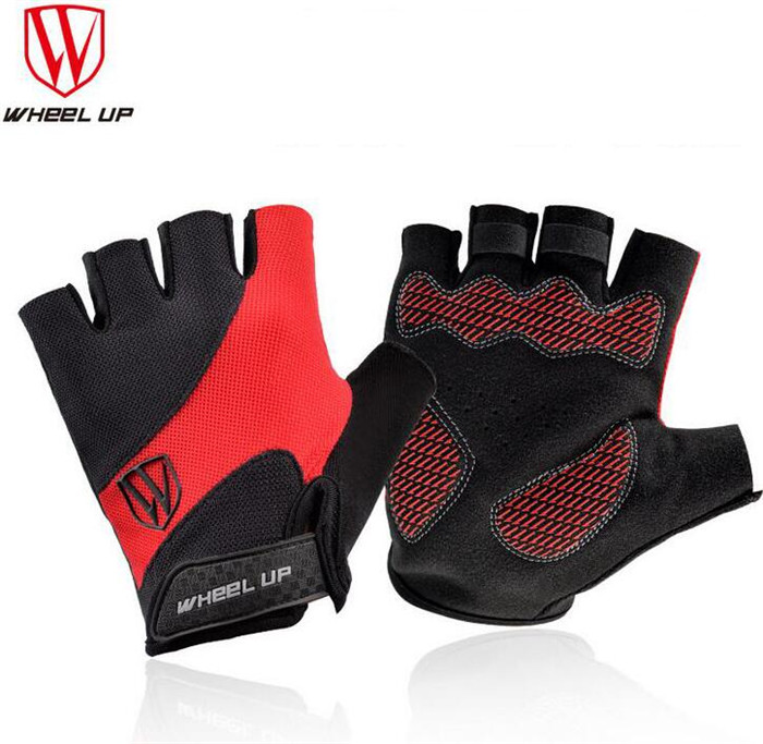 Wheel Up Cycling font b Gloves b font Half Finger Mens Women s Summer Bicycle font