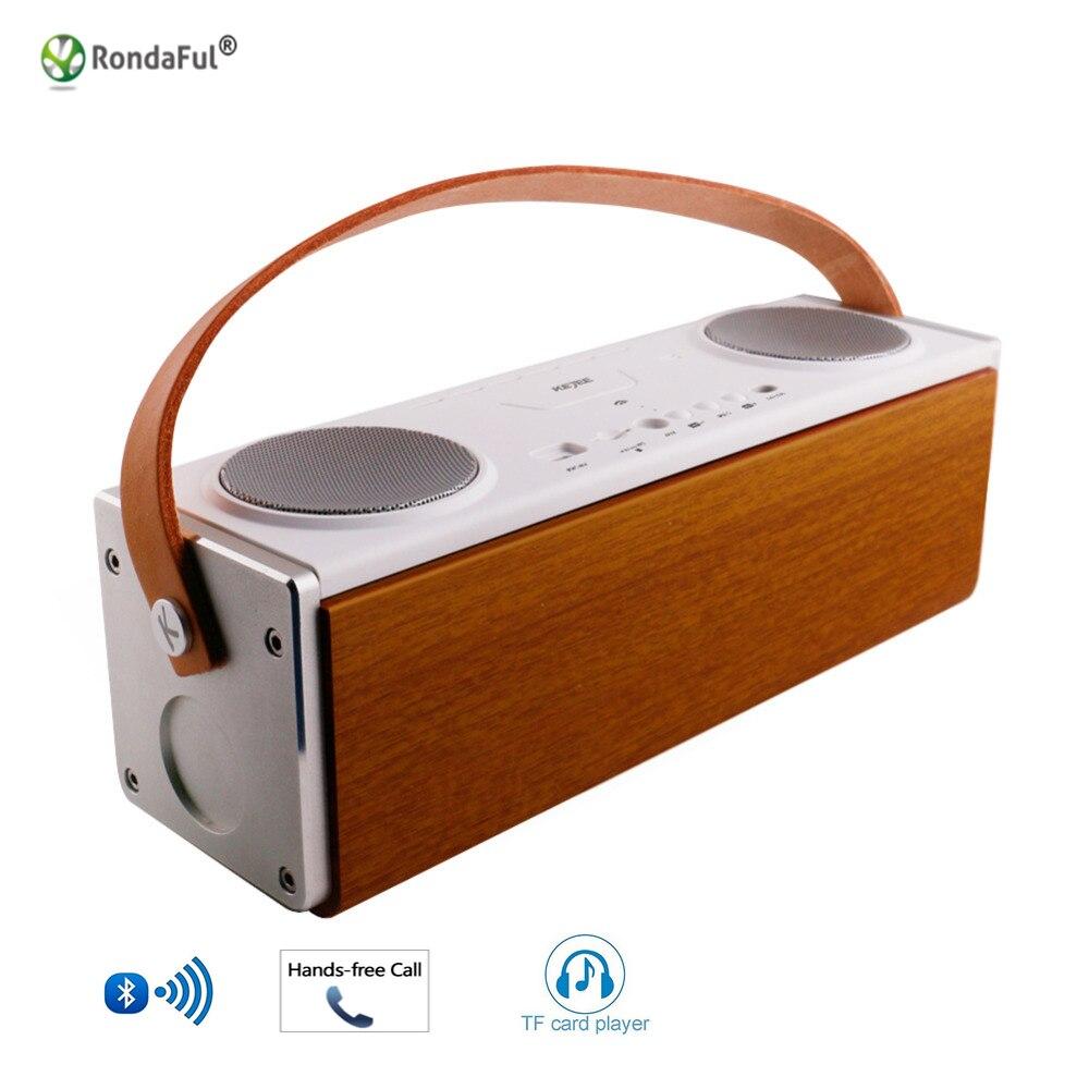 Bluetooth 4 2 font b Speaker b font Stereo Portatile Wireless Case Square font b Speaker