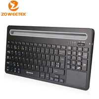 Zoweetek ZW07 Bluetooth 3.0 Wireless Keyboard Touchpad English Mouse Combo For Android Phone Tablet PC Smart Arabic TV BOX IPTV