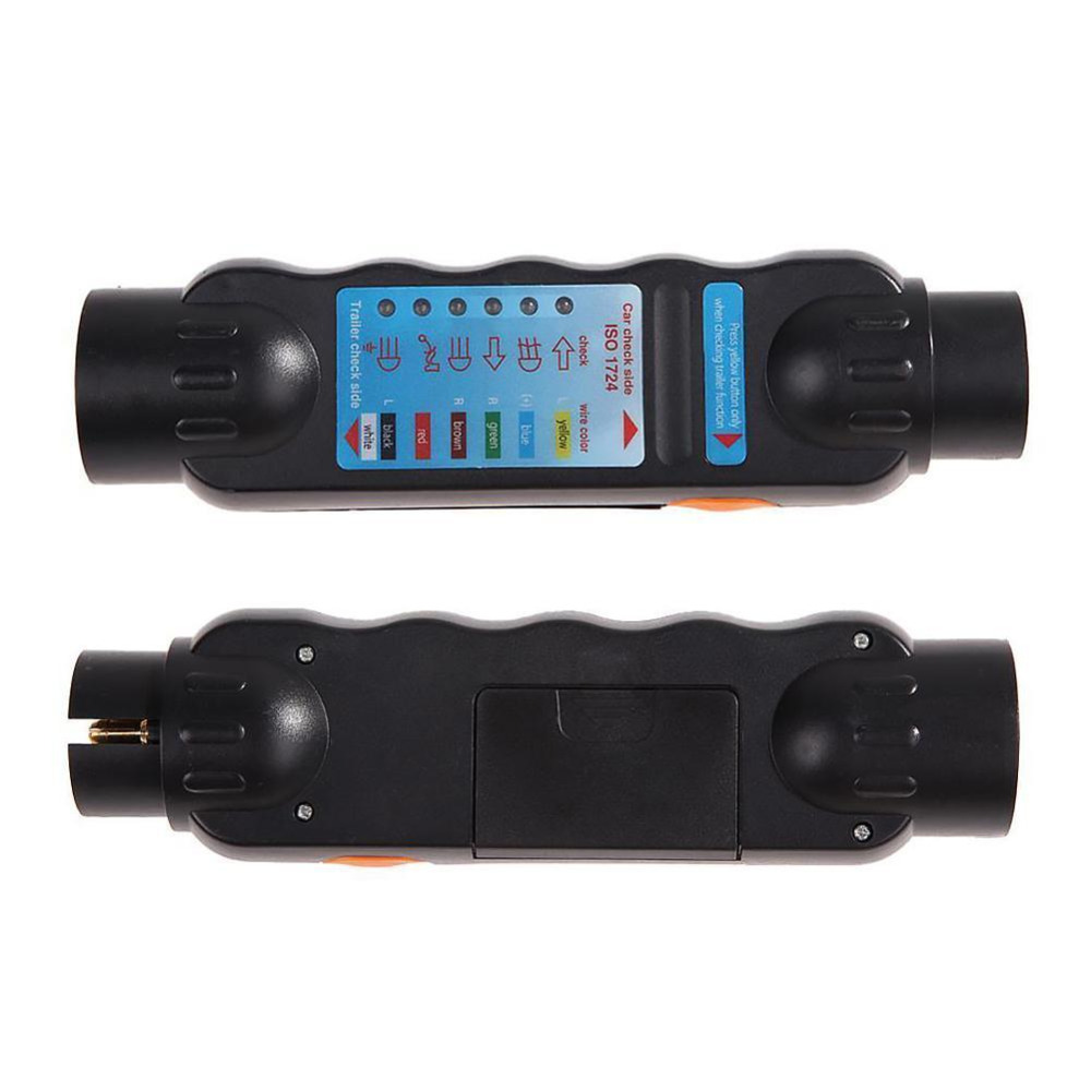 Diagnostic Tool 7 Pin Vehicle Car Towing Trailer Light Cable Wiring ...