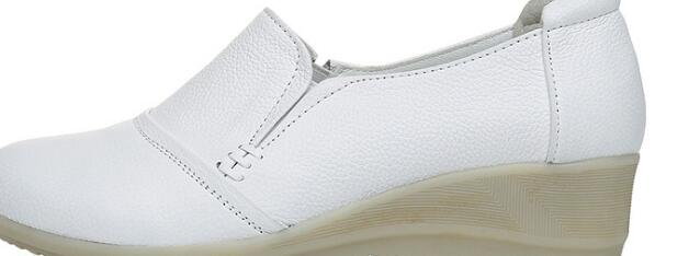 Hot sale White round head non-slip shallow mouth white shoes A155(1)-A155(7)Hot sale White round head non-slip shallow mouth white shoes A155(1)-A155(7)