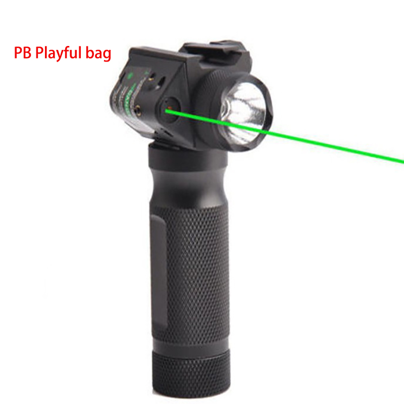 New Special Command And Tactics For Sniper Games Red And Green Laser Grip Flashlight Upgrade Material Light Flashlight Gel Ball