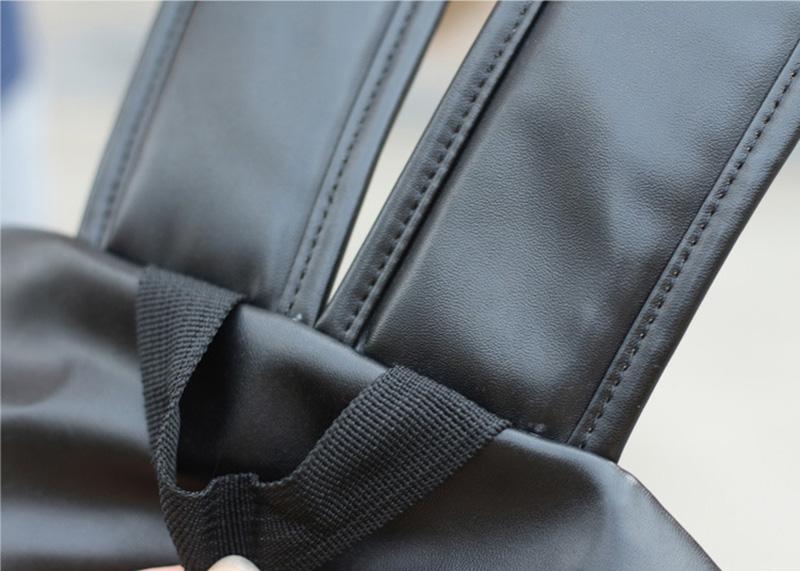 Women BTS Backpack Luminous PU Leather Female Backpacks Waterproof Boys Girls School Bags Teenager Schoolbag Mochila BP0172 (4)