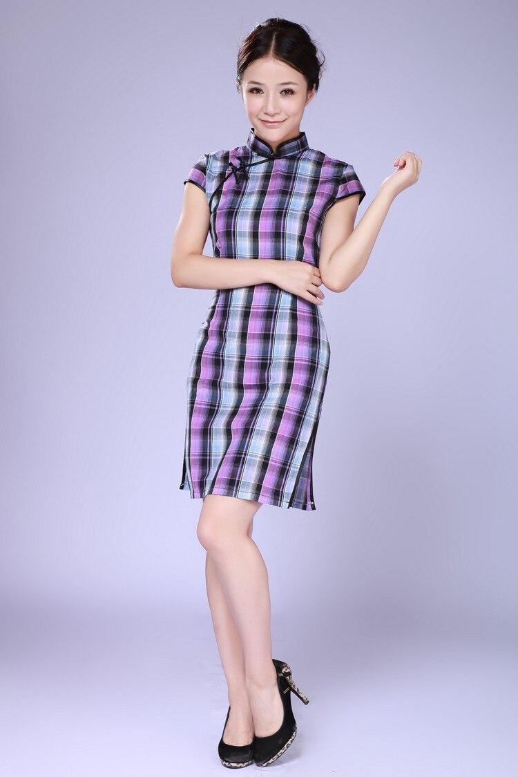 f961632d6 Frete grátis nova venda Cheongsam alta qualidade vestido tradicional chinês  Cheongsam simples vestido do Vintage Cheongsam vestido JY069
