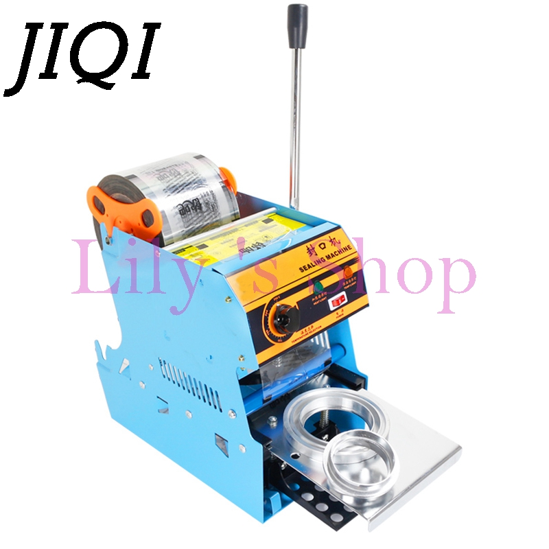 DMWD Manual Handle cup sealing machine commercial sealer hand pressure sealing maker Bubble pearl milk tea shop closure Cup lid edtid new high quality small commercial ice machine household ice machine tea milk shop