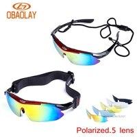 Women Men Sport Glasses Set Polarized Ski Goggles UV400 Motorcycle Snowboard Oculos Eyewear Sunglasses For Fishing