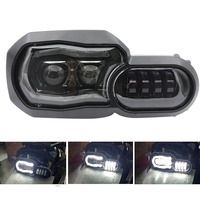 LED Headlamp Assembly Headlight Hi/low beam with DRL For BMW F800GS LED Headlight / F700GS / F650GS / F800R