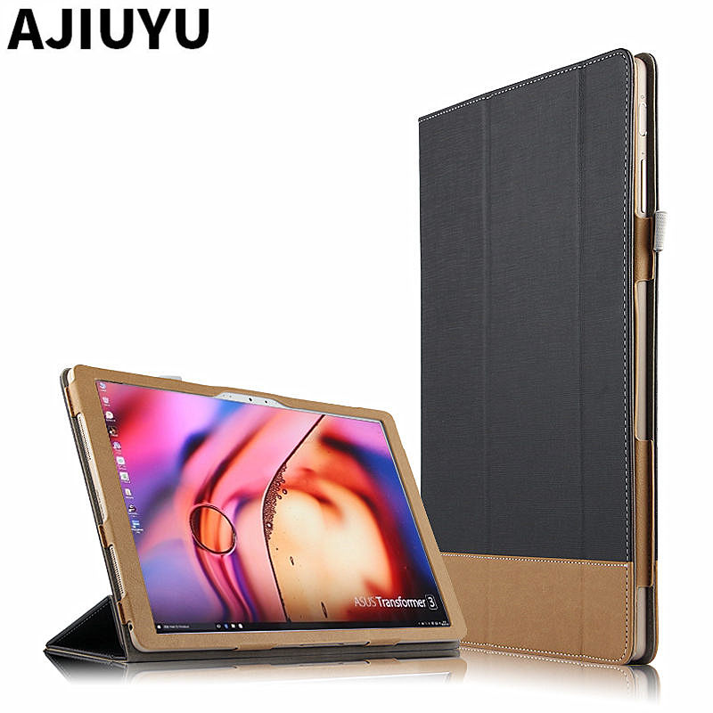 For ASUS Transformer 3 T305CA Case Cover Book T305 ca 12 PU Protector Smart Leather Tablet m3 7Y30 12.6  Protective Sleeve Cese ultra thin smart flip pu leather cover for lenovo tab 2 a10 30 70f x30f x30m 10 1 tablet case screen protector stylus pen