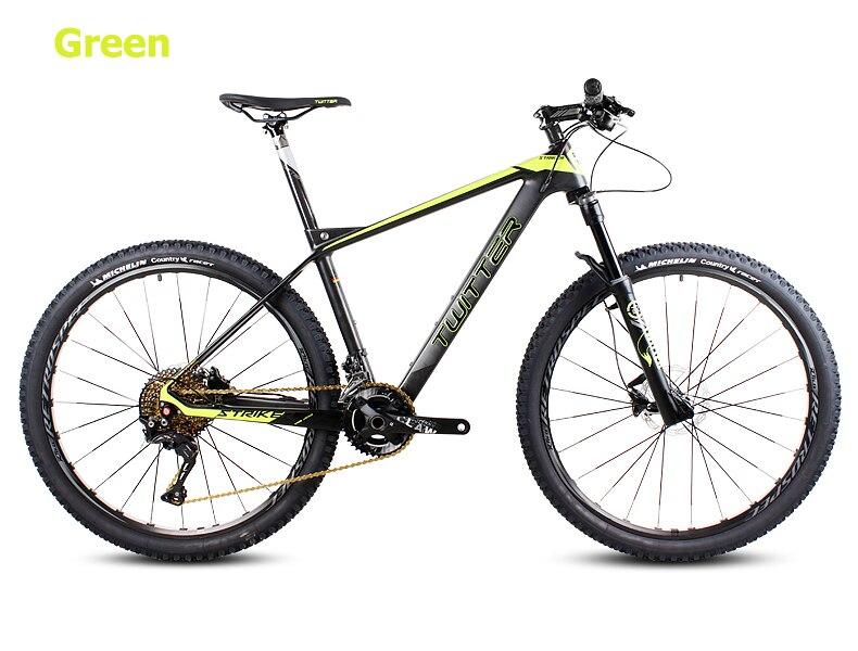 Pulsuz alış-veriş 26 / 27.5inc karbon lif dağ velosiped 27speed - Velosiped sürün - Fotoqrafiya 3