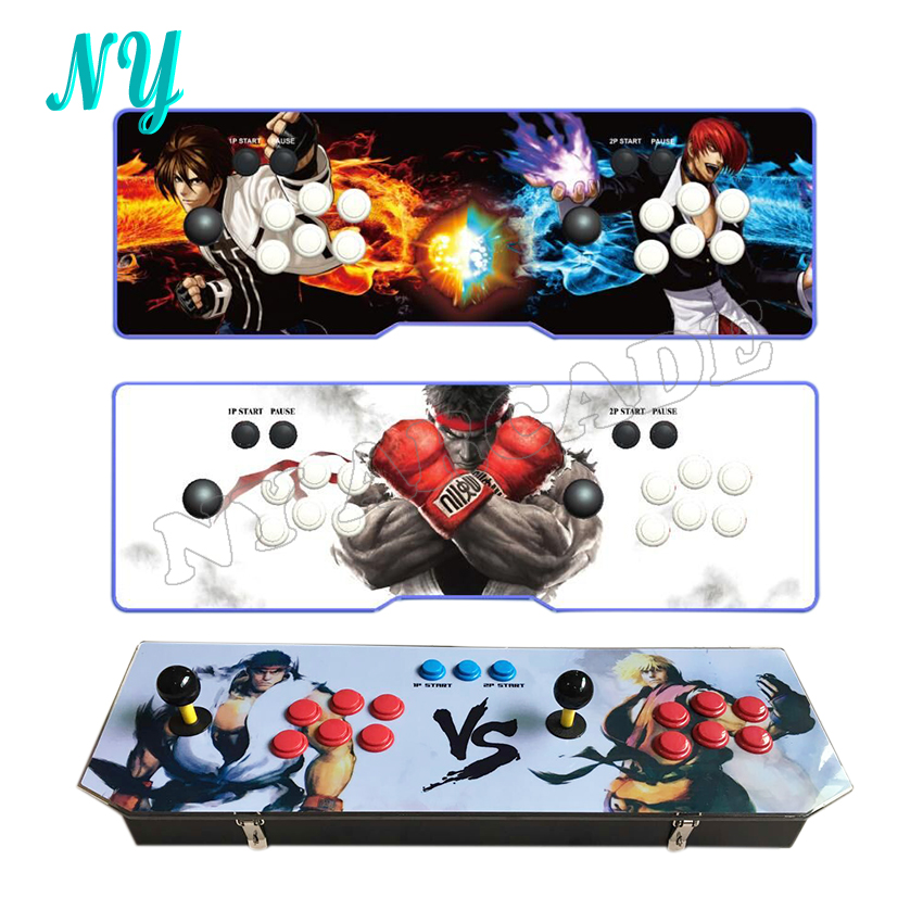 1388 in 1 new arrive 6S TV jamma arcade game console HDMI/VGA with 1388 games button joystick video game can Pause for PC PS3