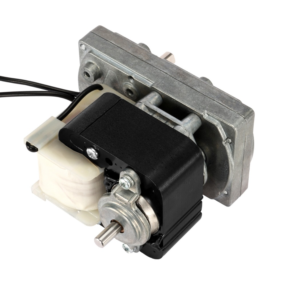 76RPM AC 220V to 240V 50Hz D-shaped Shaft Dia 8mm CW Motor Pellet Stove Auger Motor Clockwise Gear Motor Single-Phase FC-YJ61 70ktyz ac 220v 110v 0 19a 30w 8mm shaft