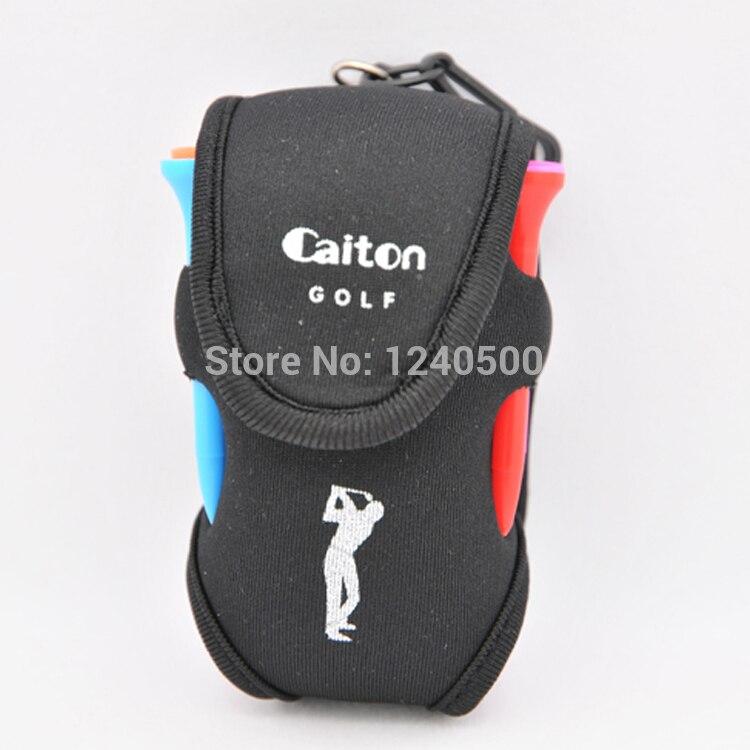 Envío Gratis Negro Bolsa de Golf pelota de Golf pequeño paquete de la cintura bo