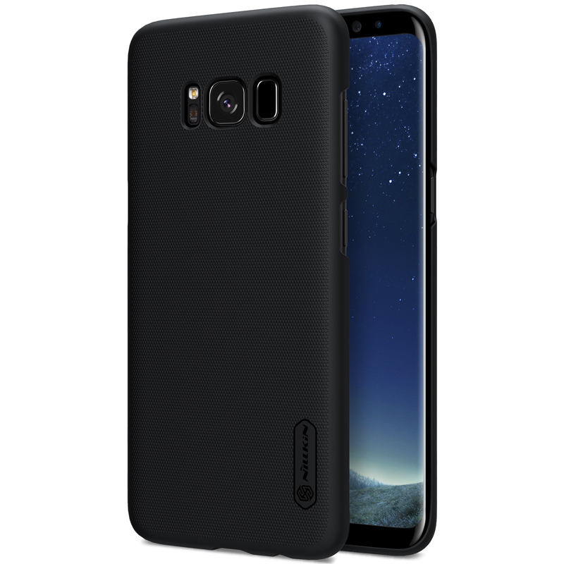 sFor Samsung Galaxy S8 / S8 Plus Case Nillkin Super Frosted Shield- ի հետևի կափարիչը Samsung Galaxy S8 գումարած նվերով