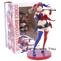 DC Comics Bishoujo Statue Harley Quinn NEW 52 Ver. PVC Sexy Figure Doll Collection Model Toy Figurine