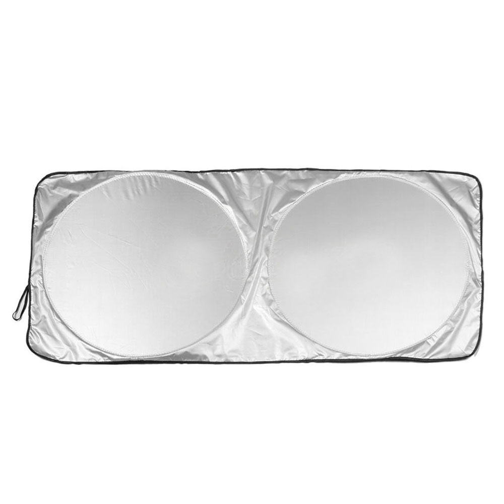 Vehemo <font><b>190*90</b></font> Car SunShade Auto Sun Visor SunShade Windshield for Solar Protection Large Window Covers Block Cover Protector image