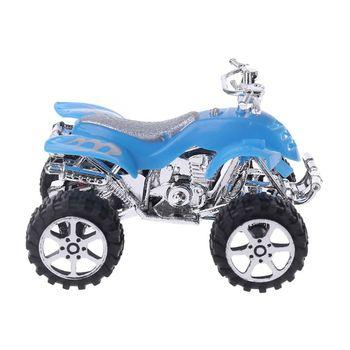 Simulación de Mini inercia extraíble, motocicleta de playa de 4 ruedas, vehículo, modelo de Motocross, juguete educativo para niños