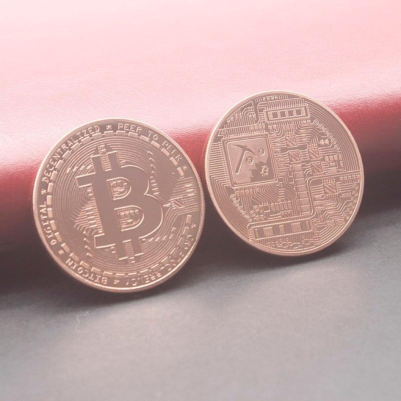 copper color bitcoin coin