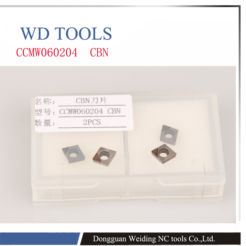 Free shipping 2PCS  CCMW060204 CBN Inserts , CNC CBN diamond inserts For Lathe Tools For SCLCR/SCKCR/SCZCR Turning ToolsFree shipping 2PCS  CCMW060204 CBN Inserts , CNC CBN diamond inserts For Lathe Tools For SCLCR/SCKCR/SCZCR Turning Tools