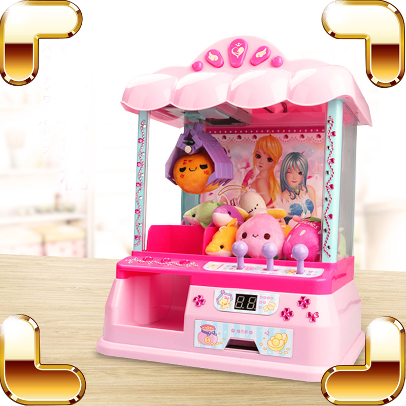 New Coming Gift Dolls Grab Machine Toy Fun Kids Game Novelty & Gag Toys Can Put Candy Music Play Gags & Practical Jokes Present