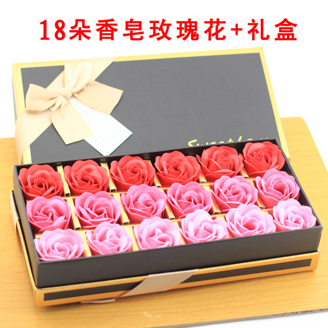Valentines Day Gift Ideas Wholesale 18 Boxes Of Soap Roses Sent His Girlfriend A Birthday