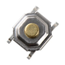 100 pcs 4*4*1.5mm Tactile Push Button Switch Tact Micro Switch 4-Pin SMD VE144 P0.5