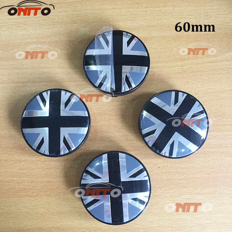 20pcs 56mm British flag logo for Car Center Caps Badge 6omm Auto Wheel Center Hub Caps E ...