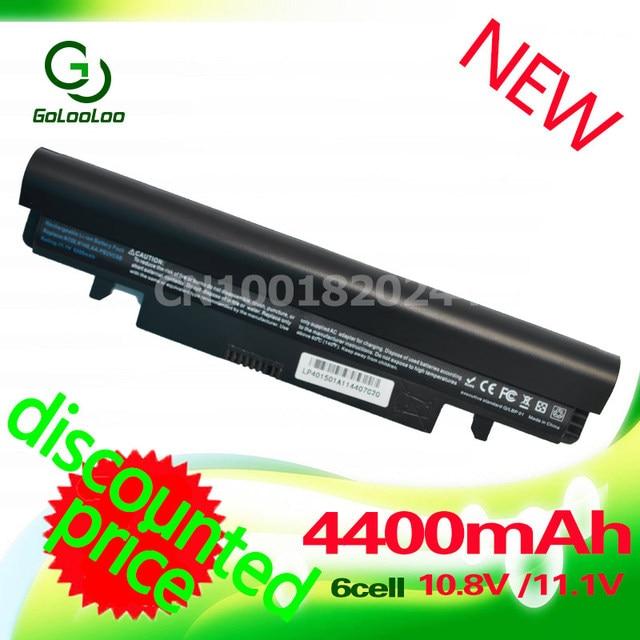 Golooloo 4400 mah bateria para samsung n100 n143 n145p n148 n150 n250 n260 aa-pb2vc3b aa-pb2vc3w pb2vc6b-aa-aa-aa pl2vc6b pl2vc6w