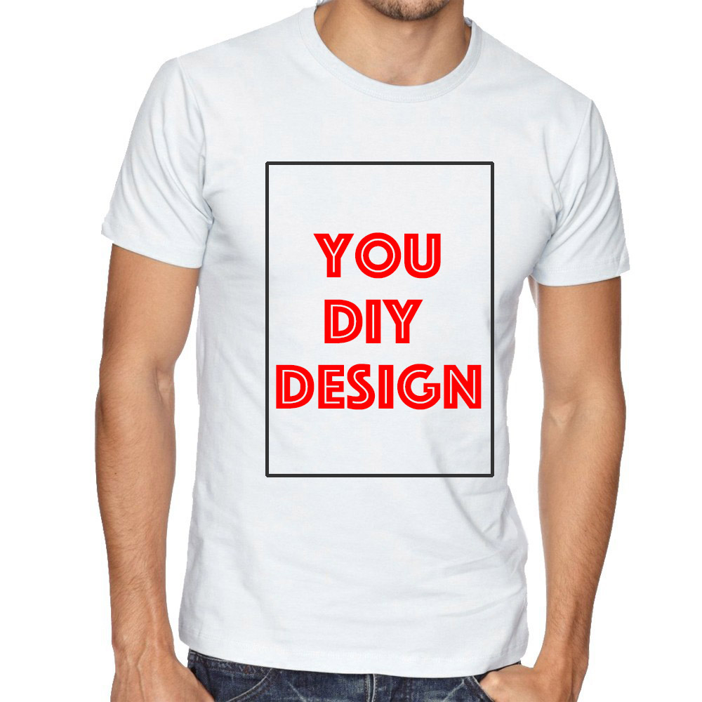 Customized t shirt print your own design diy photo text for Print my own t shirt design